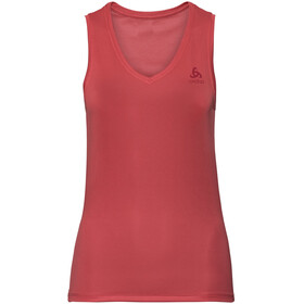 Odlo Active F-Dry Ligh Top V-Neck Singlet Damen chrysanthemum